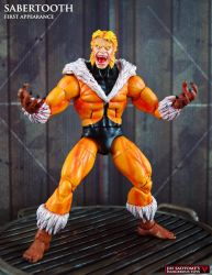 Custom First Appearance Sabertooth Marvel legends by Jin-Saotome