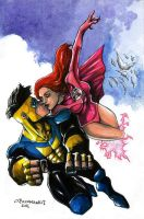 Invincible, Atom Eve: Cloud 9 by olybear