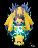 Joltik and Galvantula