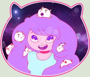Bee And Puppycat by YellowRavenInk