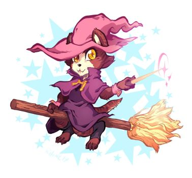 Kitty-witch by ParaParano