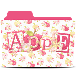 Apple Folder Icon by akamichan9