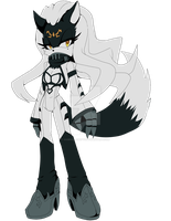 ::ADOPTABLE::Jackal girl [CLOSED] by Gabriel-adopts