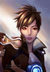 Overwatch Tracer Off Duty by luffie