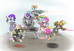 Wasteland Souls by Metal-Kitty