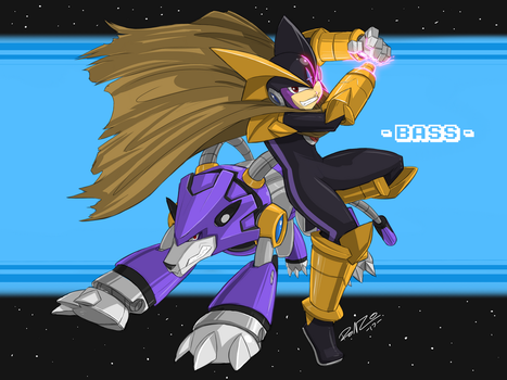 Grace Comm. BASS from MEGAMAN by ShoNuff44