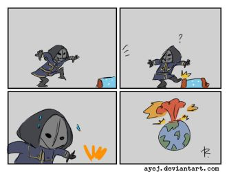 dishonored, doodles 58 by Ayej