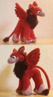 Test Plush - Gryphon 1 by dot-DOLL