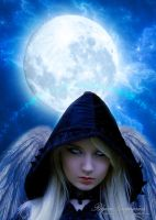Winged Witch's Moon by RogerioGuimaraes