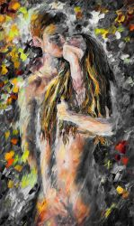 Moment Of Passion by Leonid Afremov
