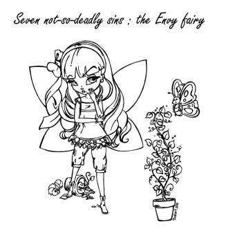 The Envy Fairy by JadeDragonne