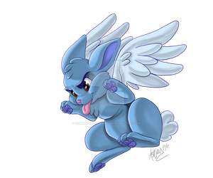 Can't Catch Angel Bunny by Orangeandbluecream