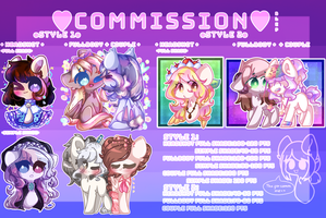 Commission board by ShootingStar132005