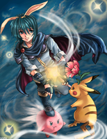 SSBM: Marth is Magic by silvair