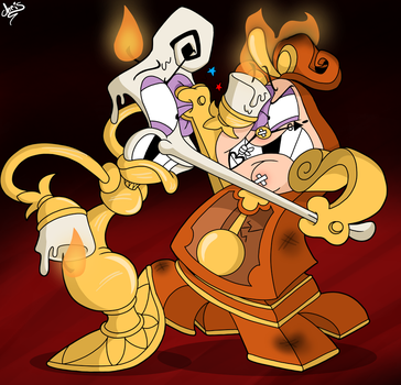 Beauty And The Beast Screenshot Redraw 7 (???) by GreenCowBandannas