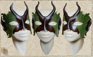 Leather mask 101 by Eternal-designs-com