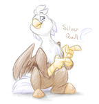 Silver Quill by Luximus17
