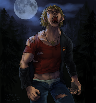 Commission: Der Werwolf by lycanthropeful