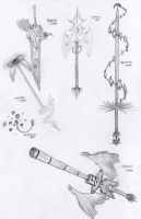 Item contest - weapons by kalistina