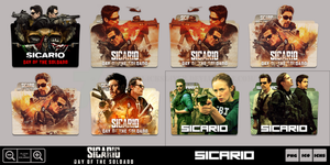 Sicario Day of the Soldado (2018) Folder Icon Pack by Bl4CKSL4YER