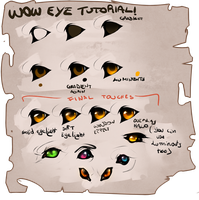 Wow eye tutorial 2018 by MaraMastrullo