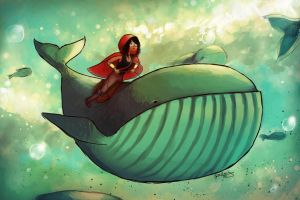 Whale Ride by camibee