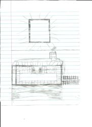 Minecraft House Sketch - Before by AMinecraftMaster