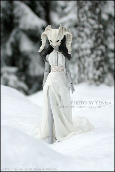 Death comes atop the snow by yenna-photo