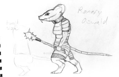 RPG characters: Ranary Oswald by Jalinon