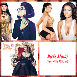 Nicki Minaj Mega Pack PNG (Part 1) by maarcopngs