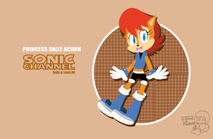 Princess Sally -Sonic Channel- by Kell0x