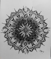 Mandala / Zentangle / Doodle 2015.4.8 by iriswky