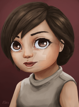 Abbie by VickArtStrong