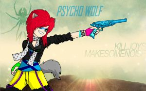 KILLJOY- PSYCHO WOLF by KTechnicolour