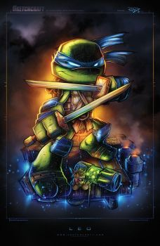 TMNT Mini Leo by RobDuenas
