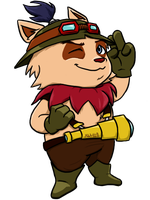 Teemo, the Swift Scout by KunehoKun