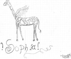 Sophia, the winges giraffe by alias-kanas