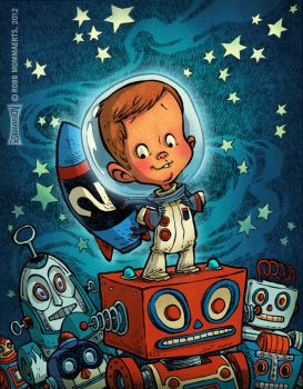 Space Toddler by RobbVision