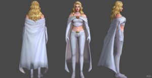 Emma Frost FF by SSingh511
