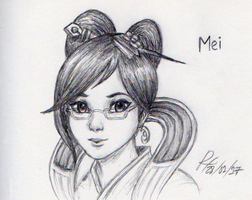 Mei by RokxMcShadow
