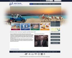 Egyptian Web Designer: Misr Travel Website Design by yehyahafez