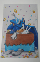 Happy 26th Birthday Sonic! by mooninescent