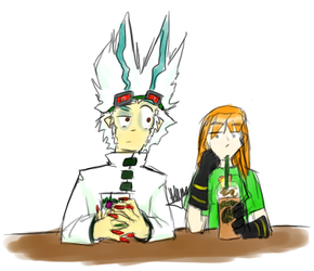 Coffee time at NeoBucks by angelblood