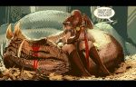 red sonja-now with sexual innuendo! by nebezial