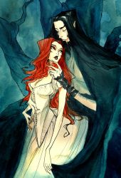 Hades and Persephone II by AbigailLarson