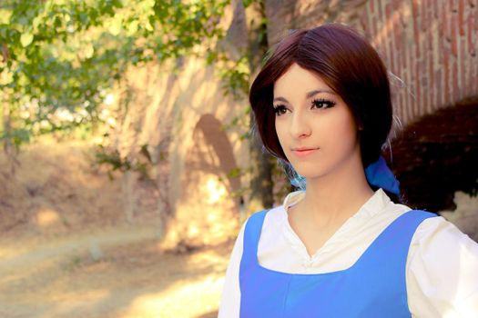 Beauty and the Beast - Belle by Shirokii