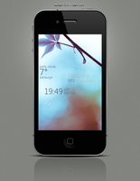LS Tranquility Leaf IP4 by magnet77