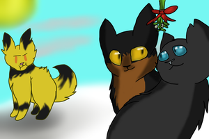 Under the Mistletoe by OpaIescent