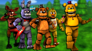 Welcome to FNAF World! by CynfulEntity