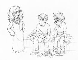 HP, the Wretch, and the Bear by laerry